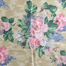 Shabby Chic Upholstery Fabric by Vintage Floral Fabric Peonies Delphinium And Roses Next