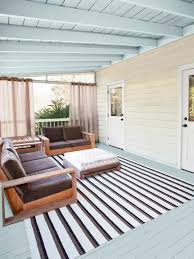Screened Porch Makeover by Step By Step Porch Makeover Hgtv