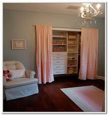 Replace Sliding Closet Doors With Curtains Replacing Sliding Closet Doors With Curtains Home Pinterest