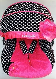 Pink Car Seat Canopy by Rosy Kids Canopies U0026 Covers Infant Carseat Cover Canopy 3 Pc