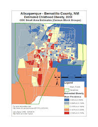 Zip Code Map Albuquerque by Other Nm Spatial Analysis Applications