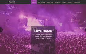 free music bootstrap web template webthemez