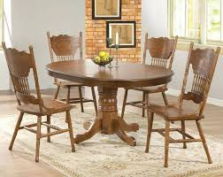 white oak dining room table and chairs vintage 1930s jamestown