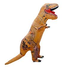 Rex Halloween Costumes Unisex Children Kids Rex Inflatable Dinosaur Costume Blow