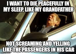 Sleeping In Meme - old man sleeping in car memes imgflip