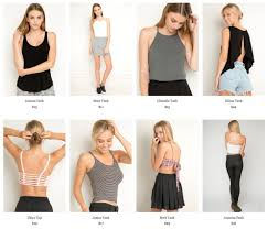 Clothes For Tall Girls Teens Love Brandy Melville A Fashion Brand That Sells Only One