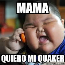 Quaker Memes - meme fat chinese kid mama quiero mi quaker 18726830