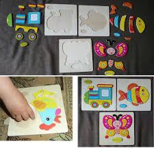 13 cosas que nunca esperas en casas americanas puzzle board animals car fruit wooden baby educational