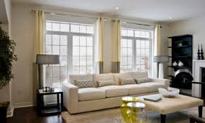 curtains for a big window large window covering ideas window