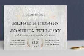 wedding invitations with pictures woodland foil pressed wedding invitations by hooray