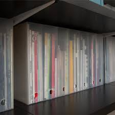 Container Store Bookcase Like It Magazine Holders The Container Store