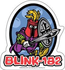 Blink 182 Halloween Shirt by Blink 182 Knight Sticker