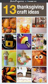 13 thanksgiving crafts for prepares