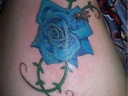 23 best blue rose tattoo designs images on pinterest blue rose