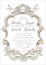 shabby chic wedding invitations return address st je t aime alisa bobzien wedding