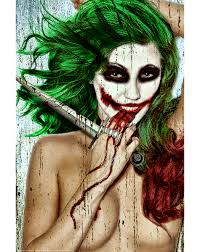 Female Joker Halloween Costume by Serious Female Joker Poster Batman Pinterest Joker