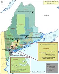 Portland Me Zip Code Map by List Of Universities In Maine Map Of Maine Universities And Colleges