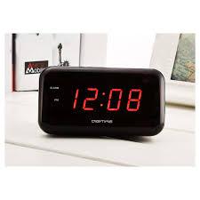 sveglia comodino led digital snooze sveglia sul comodino luminoso orologi spina