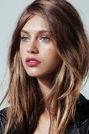 Frisuren Mittellange Haar Braun by Lifestyle Trends Scheitel Langes Glattes Haar Braun Frisuren