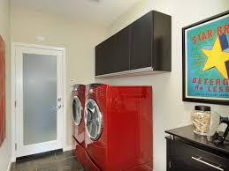 red laundry room cabinets photo sarah christine wilson