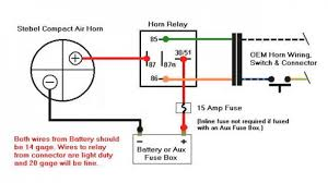 auto horn wiring diagram wire car manual within air agnitum me