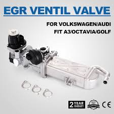 egr cooler valve for audi vw golf mk6 1 6 tdi 2 0 tdi quattro