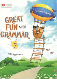 macmillan great fun with grammar for class 7 by nk aggarwala