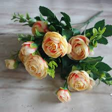 home craft gift floral silk flowers party bridal rose decor