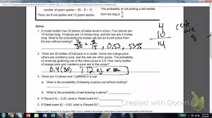 13 1 theoretical probability 7th grade youtube