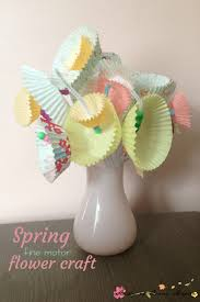 easy spring flower craft for kids sugar spice and glitter