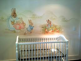 murals for children peter rabbit mural