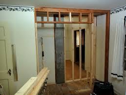 Closet Door Opening How To Frame A Closet Door Opening Home Design Ideas