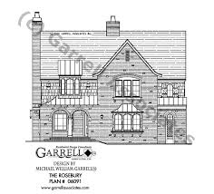 rosebury house plan house plans by garrell associates inc