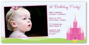 birthday castle 4x8 photo 1st birthday invitations shutterfly
