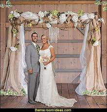 wedding arches decorated with burlap decorating theme bedrooms maries manor bridal