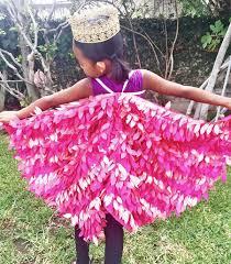 Pink Flamingo Halloween Costume Child Parrot Wings Parrot Costume Kids Costume Halloween Fairy