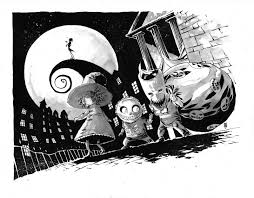 the art of mike henderson the nightmare before christmas the