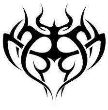immortal tribal cross tattoos free expression reigns