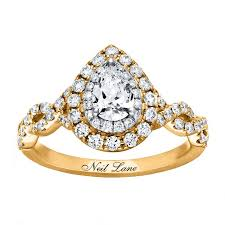 pear shaped gold engagement rings 47 pear shaped engagement rings for every brides