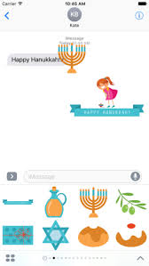 hanukkah stickers hanukkah for stickers on the app store