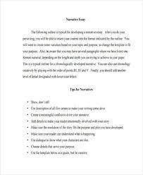 narrative example essay essay sample narrative essay college