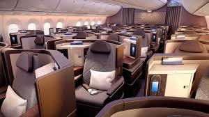 747 Dreamliner Interior A Look Inside El Al U0027s New 787 9 Dreamliners