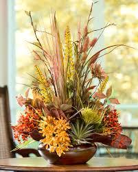Decorative Floral Arrangements Home by Fall Silk Flower Arrangements Gardens And Landscapings Decoration