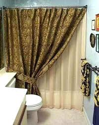 shower curtains with valance a click to expand shower curtain