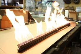 Gas Fireplace Burner Replacement by Natural Gas Or Propane Ribbon Burner Linear Flame Burner For Low