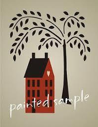 free primitive stencils primitive stencil 10 5 willow tree