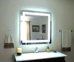 vanity led light mirror wall mirrors amazon wall mounted mirrors medium size of light wall