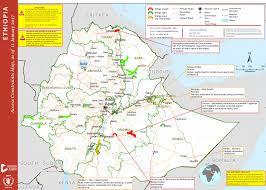 Map Of Ethiopia Crisis Analysis Of Ethiopia Acaps