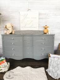 Vintage Baby Changing Table Vintage Refined Grey Changing Table