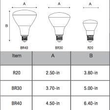 11 watt naturaled br30 e26 led replacement lamps ballastshop com